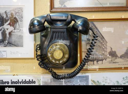 small resolution of old antique telephone madrid spain communication dated phone