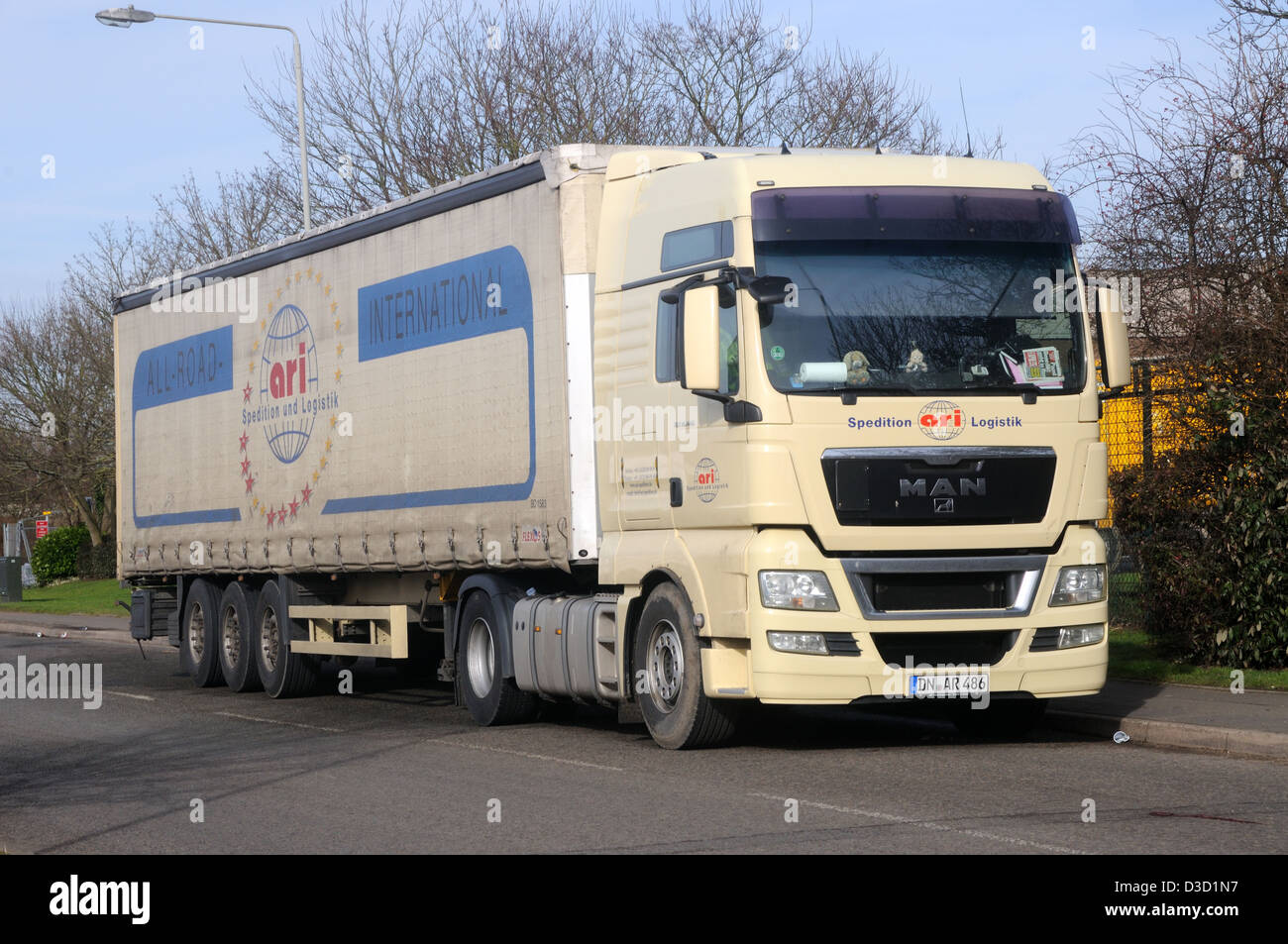 semi trailer deutsch homemade water filter diagram a man tgx 18 440 tractor unit and in the livery of