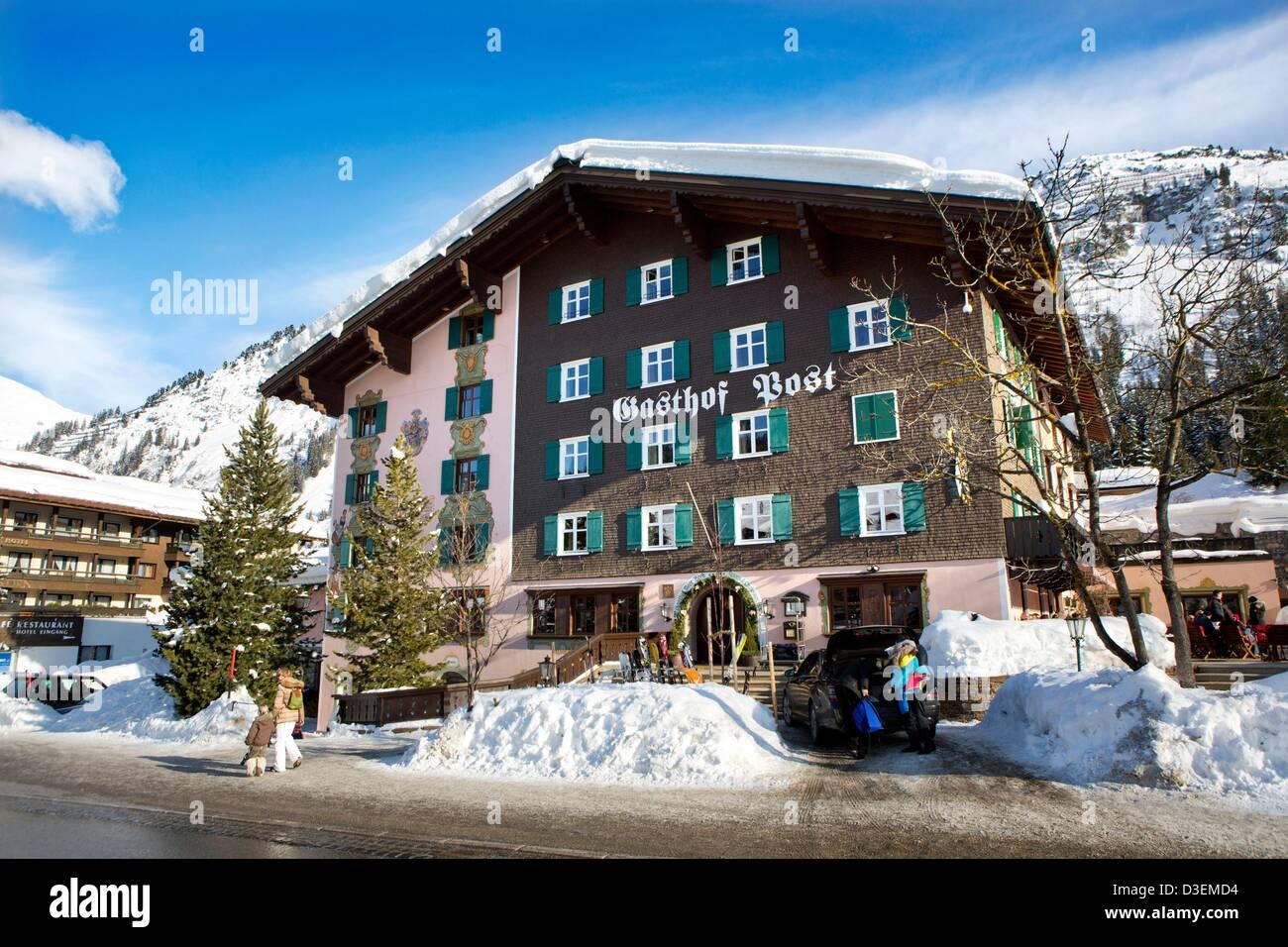 The Hotel Gasthof Post In Lech Am Arlberg Austria 17