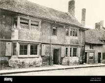High Street Early 1900s Stock &