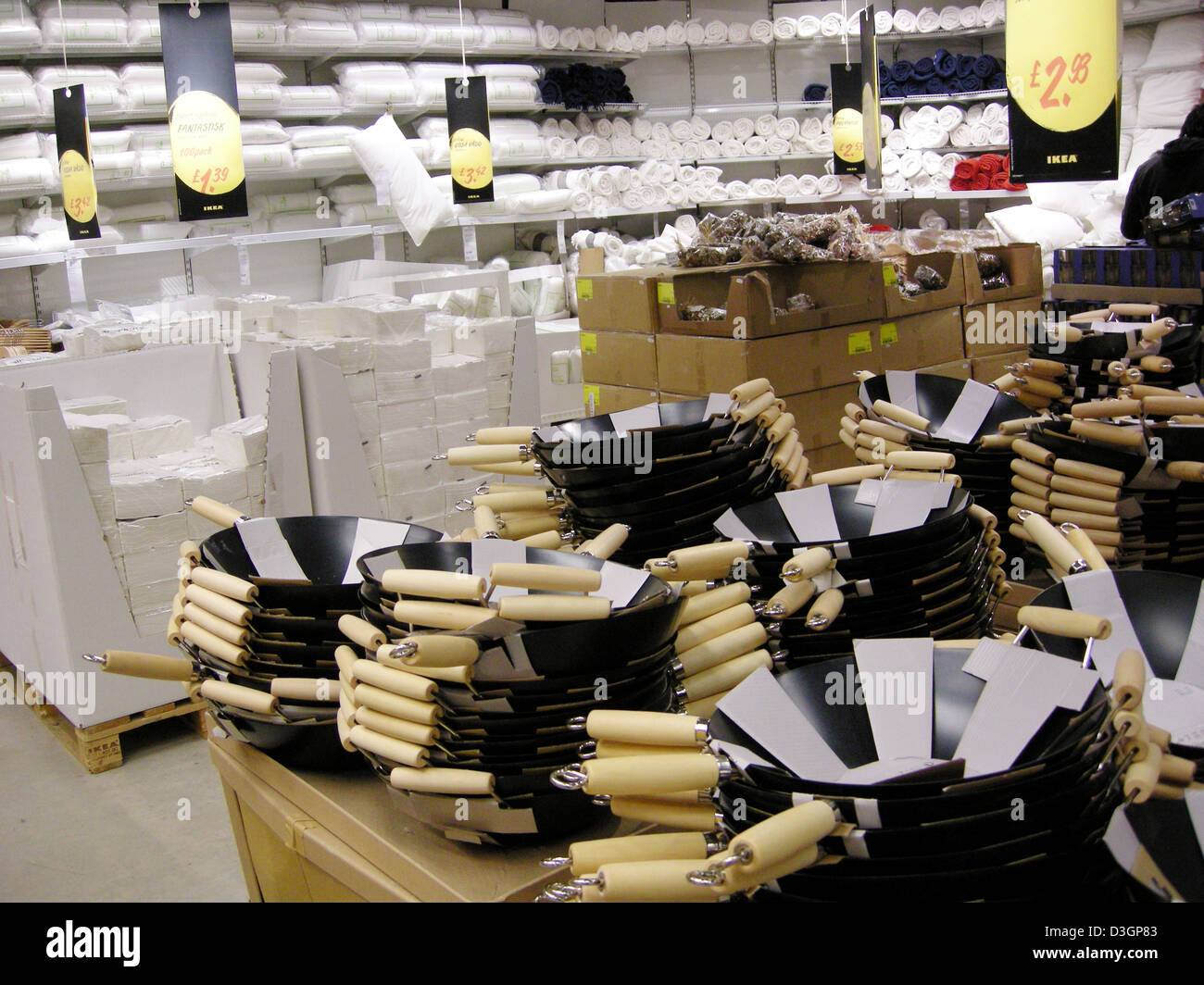 kitchen equipment for sale mats commercial in an ikea shop or store england uk