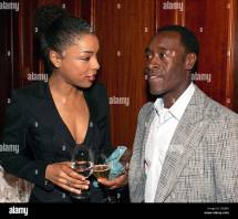 Dpa - British Actress Sophie Okonedo And Actor Don