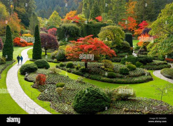 Strolling Garden Stock &