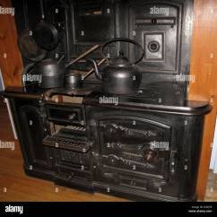 Cast Iron Kitchen Stove Discount Supplies Old Range Stock Photo 54214283 Alamy