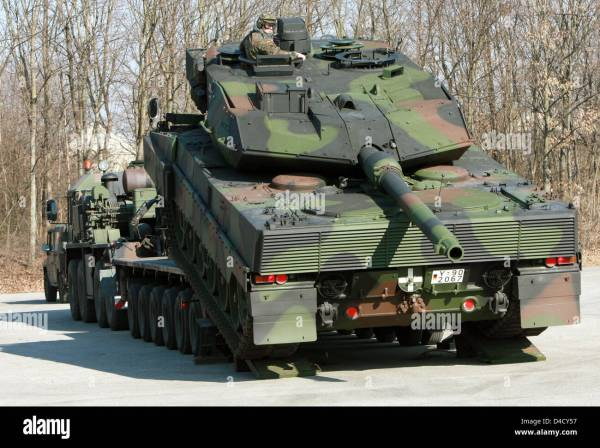German Main Battle Tank Leopard 2 Images