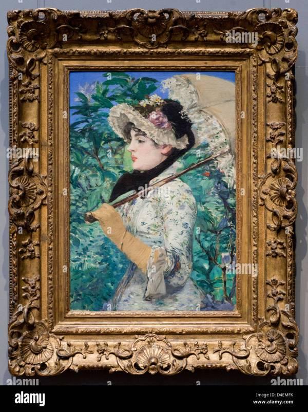 Spring Edouard Manet 1881 - Smithsonian National