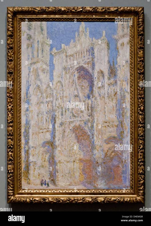 Claude Monet Rouen Cathedral West Facade