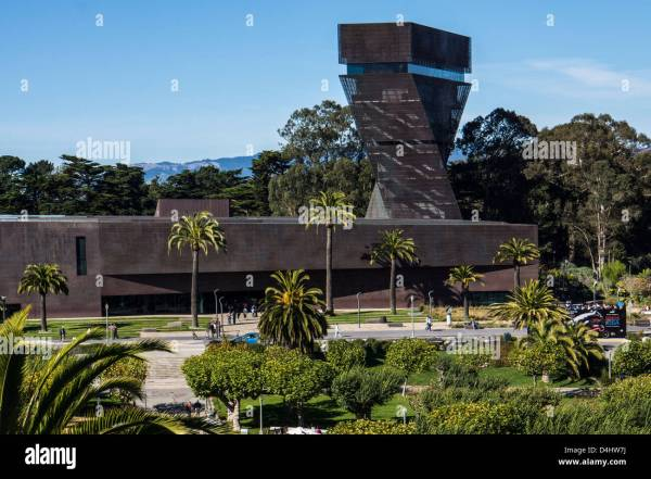 De Young Fine Arts Museums Of San Francisco Largest