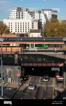Moor Street Station And Hotel La Tour Birmingham Uk Stock