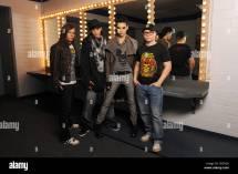 German Rock Band 'tokio Hotel' With L- Bassist Georg