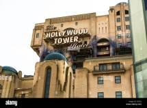 Tower Of Terror Hollywood Hotel Disneyland Paris