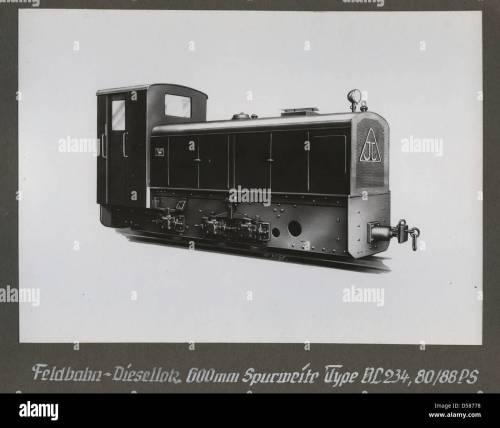 small resolution of  feldbahn diesellokomotive type vl 234 80 88 ps