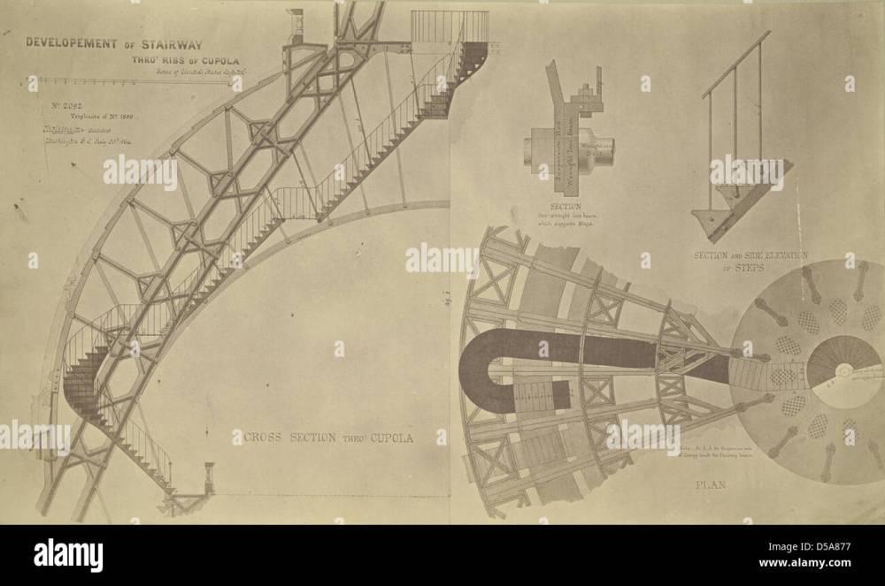 medium resolution of washington d c cross section of cupola on u s capitol stock image