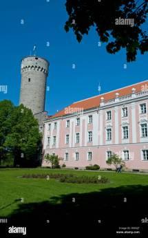 Old Castle of Tallinn Estonia