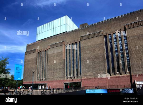 Exterior Of Tate Modern Art Museum South Bank London
