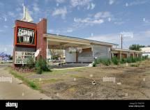 Economy Inn Motel Tucumcari Mexico. Derelict