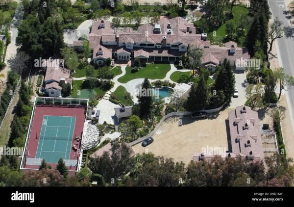 Los Angeles Aerial 2011 Stock & - Alamy