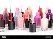 glitter nail polish stock