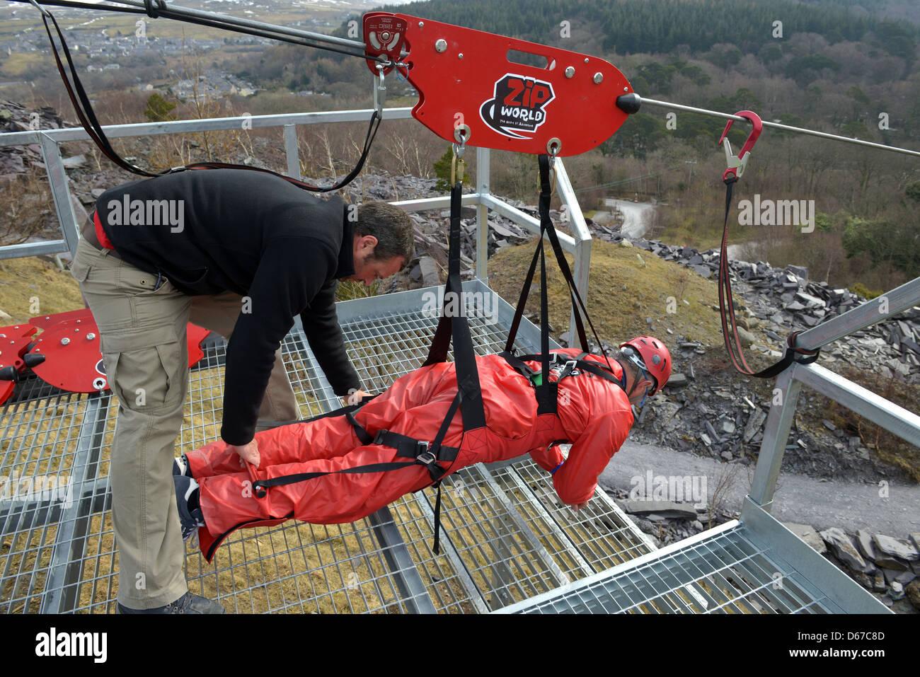 4 man zip wire wales 50cc pit bike wiring diagram ride stock photos images alamy world penrhyn quarry bethesda bangor gwynedd north the fastest