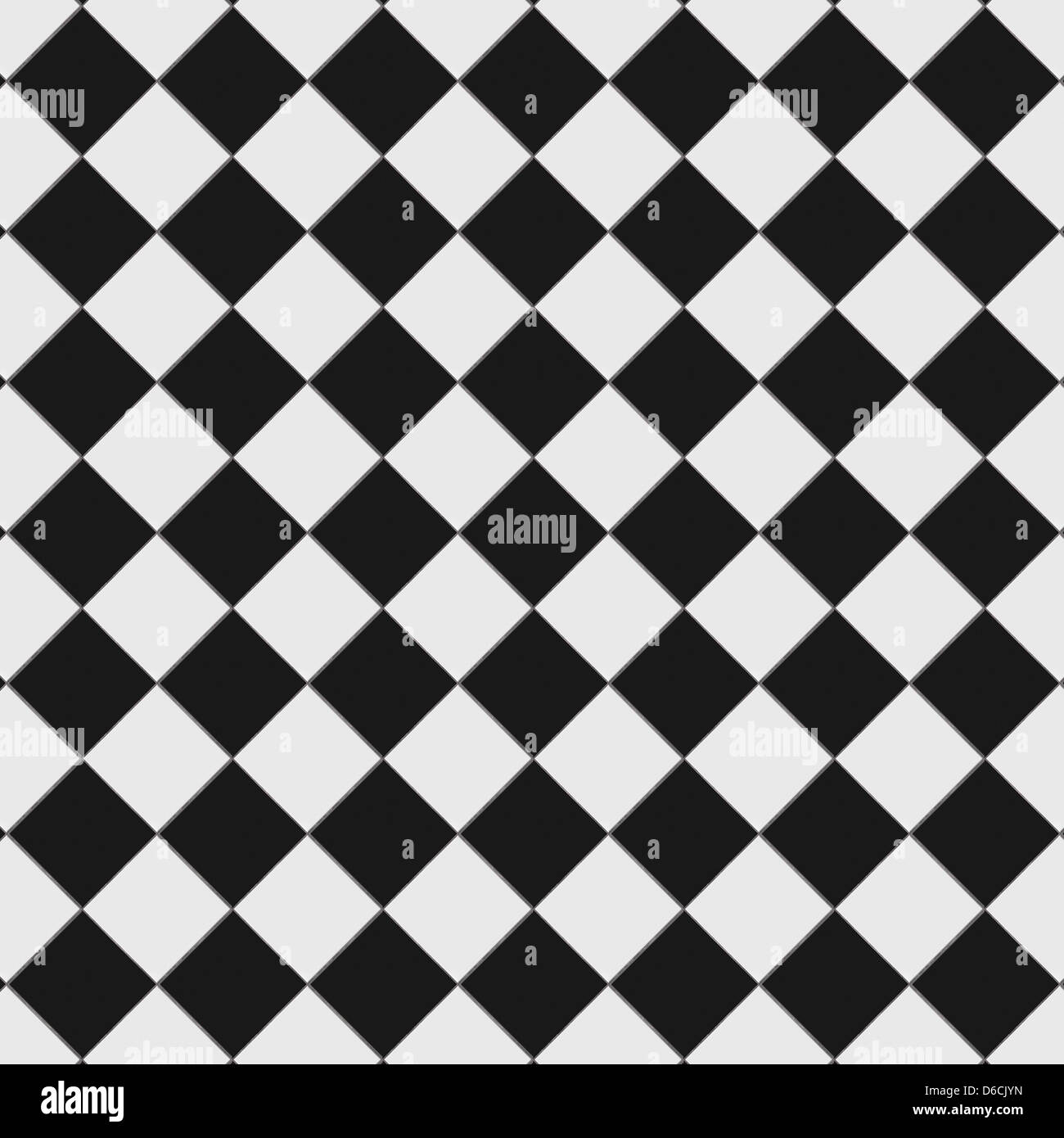 Black and white checkered floor tiles with texture This tiles Stock Photo 55597353  Alamy