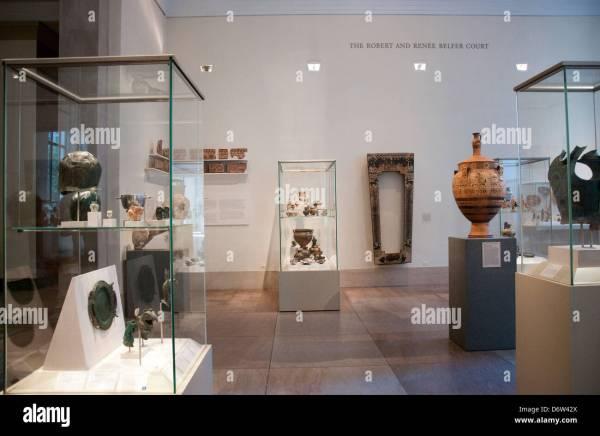 Metropolitan Museum Greek and Roman Art Gallery