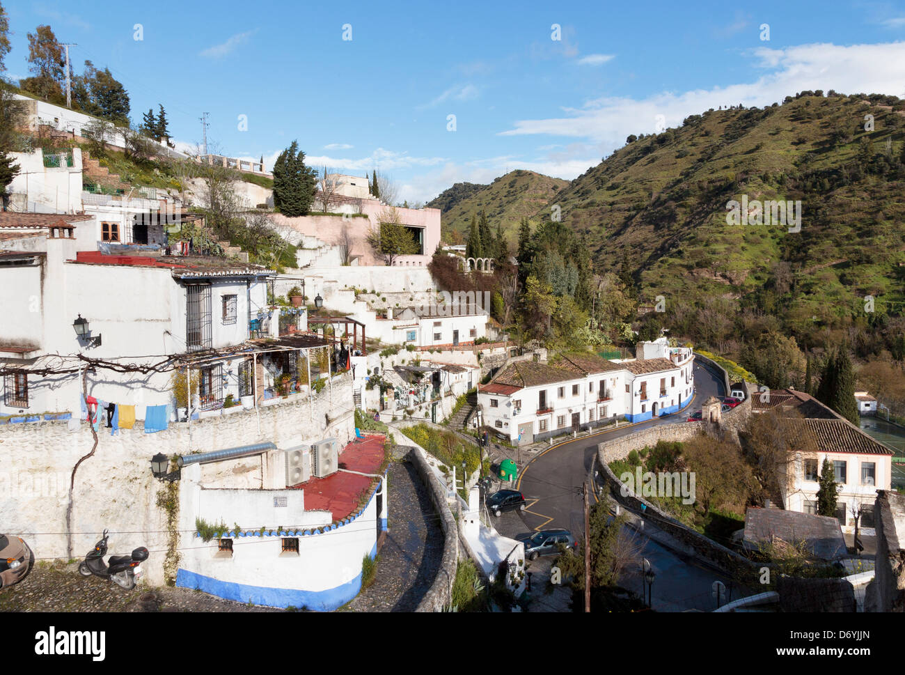 Sacromonte Granada Spain Famous For Its Cave Dwellings