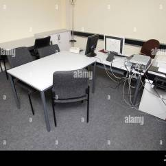 Office Chair Jtf Black Bistro Chairs Interrogation Police Stock Photos And