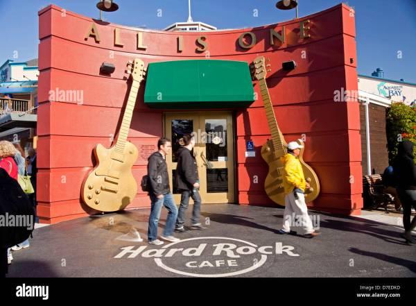 Hard Rock Cafe California Stock &