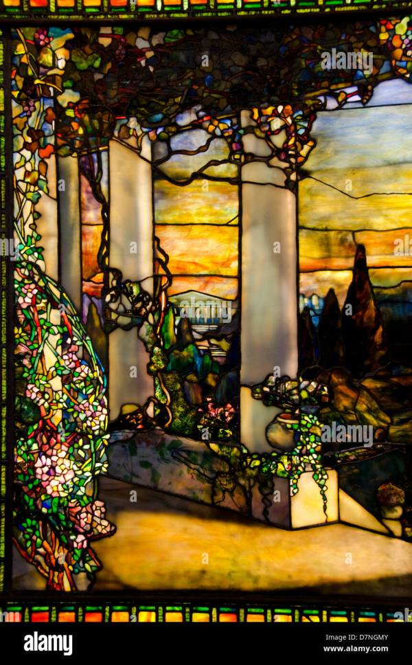 Tiffany Glass Window