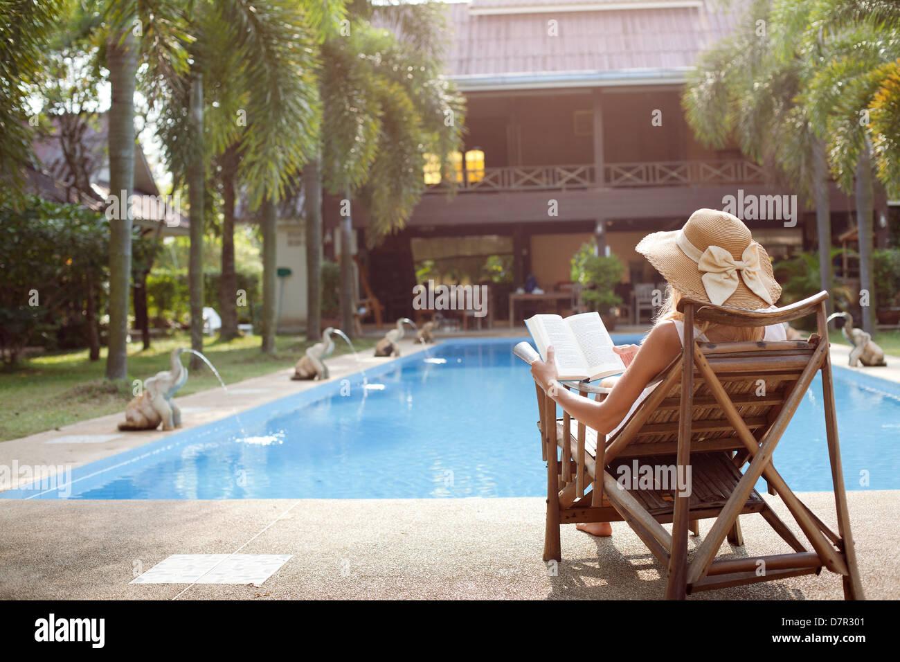 Resort Hotel Pool Hammock Stock Photos Amp Resort Hotel Pool