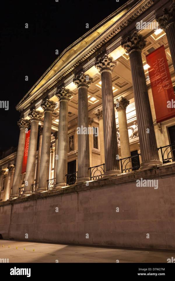 British Museum London Exterior Stock &