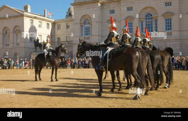 Changing Guard Horse Guards Parade Editorial Stock - Year of