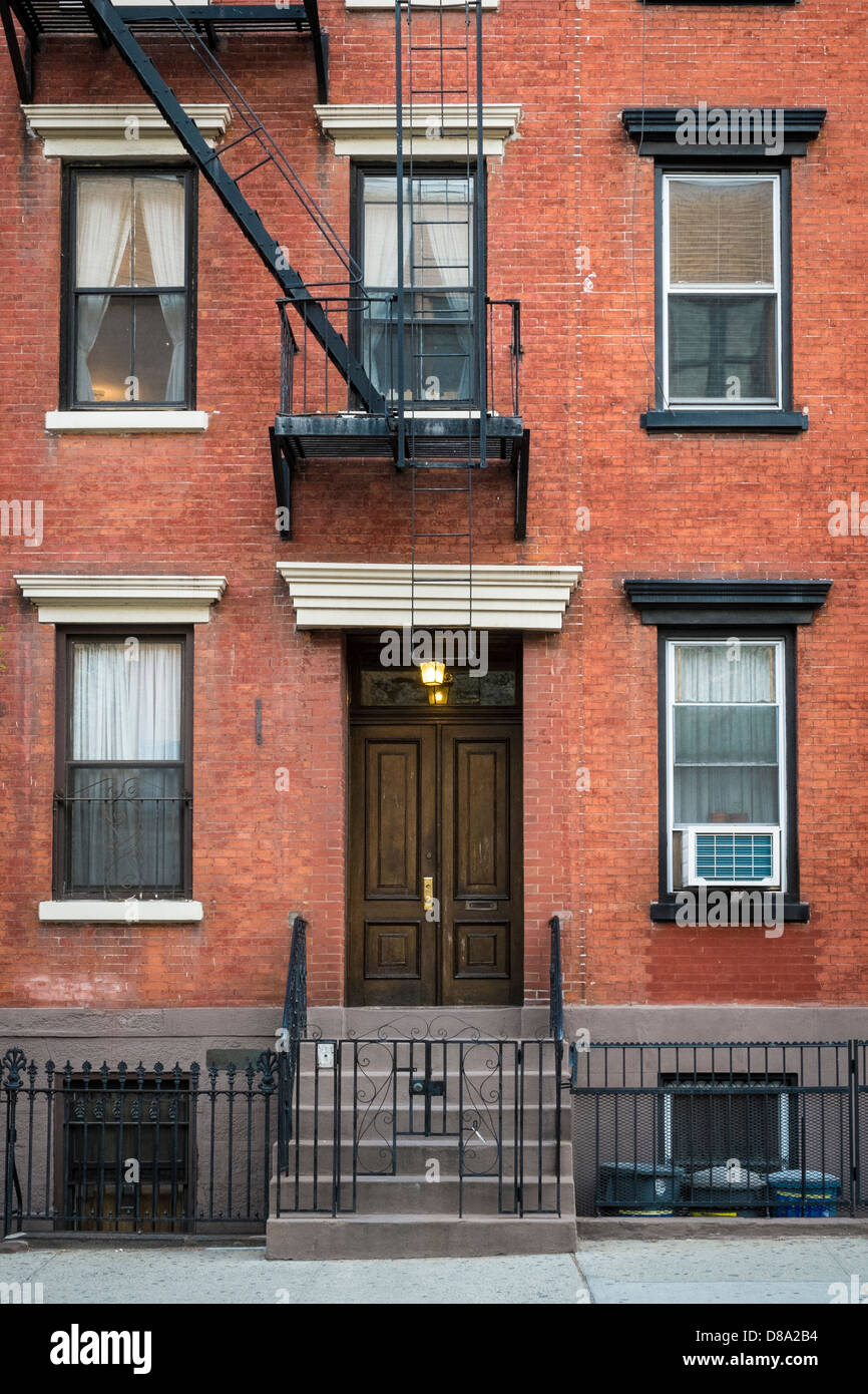 Old Apartment Building In Greenwich Village Manhattan New York City Stock Photo Royalty Free