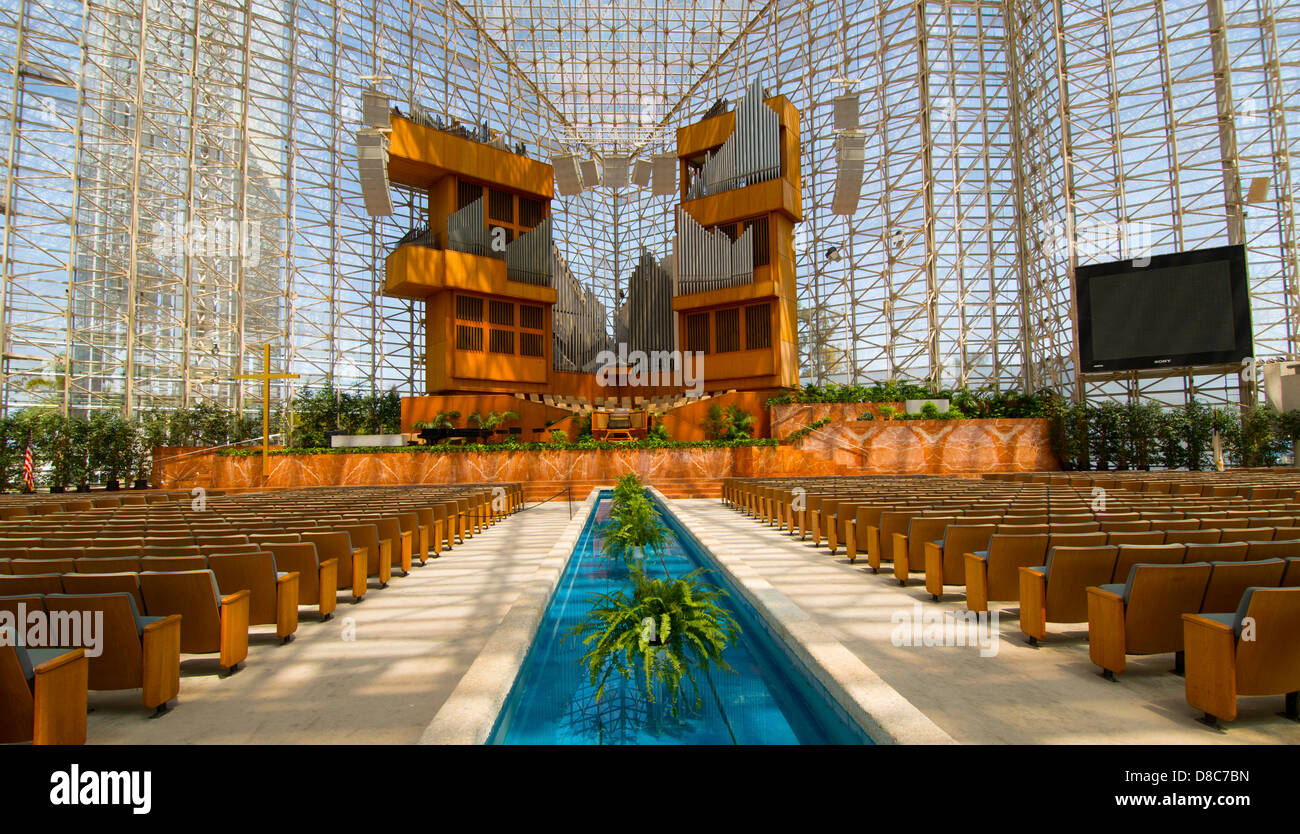 the crystal cathedral garden