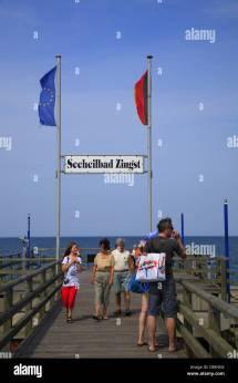 Pier Zingst Stock & - Alamy