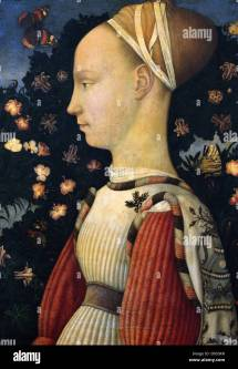 Antonio Di Puccio Pisano - Pisanello Portrait Of Princess