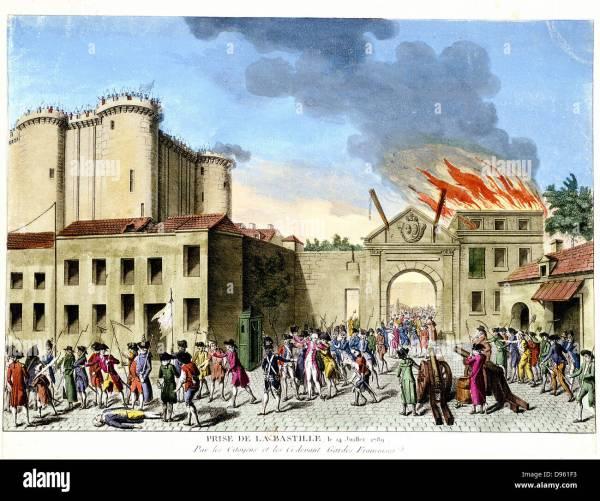 French Revolution 1789 Stock &