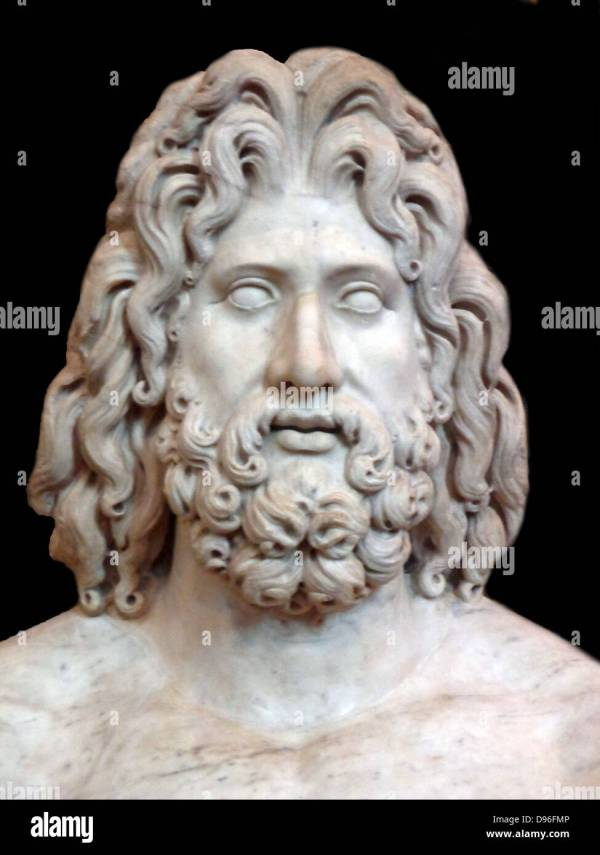 Head Of Zeus Stock & - Alamy