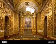 St. Johns Co-Cathedral Valletta Malta