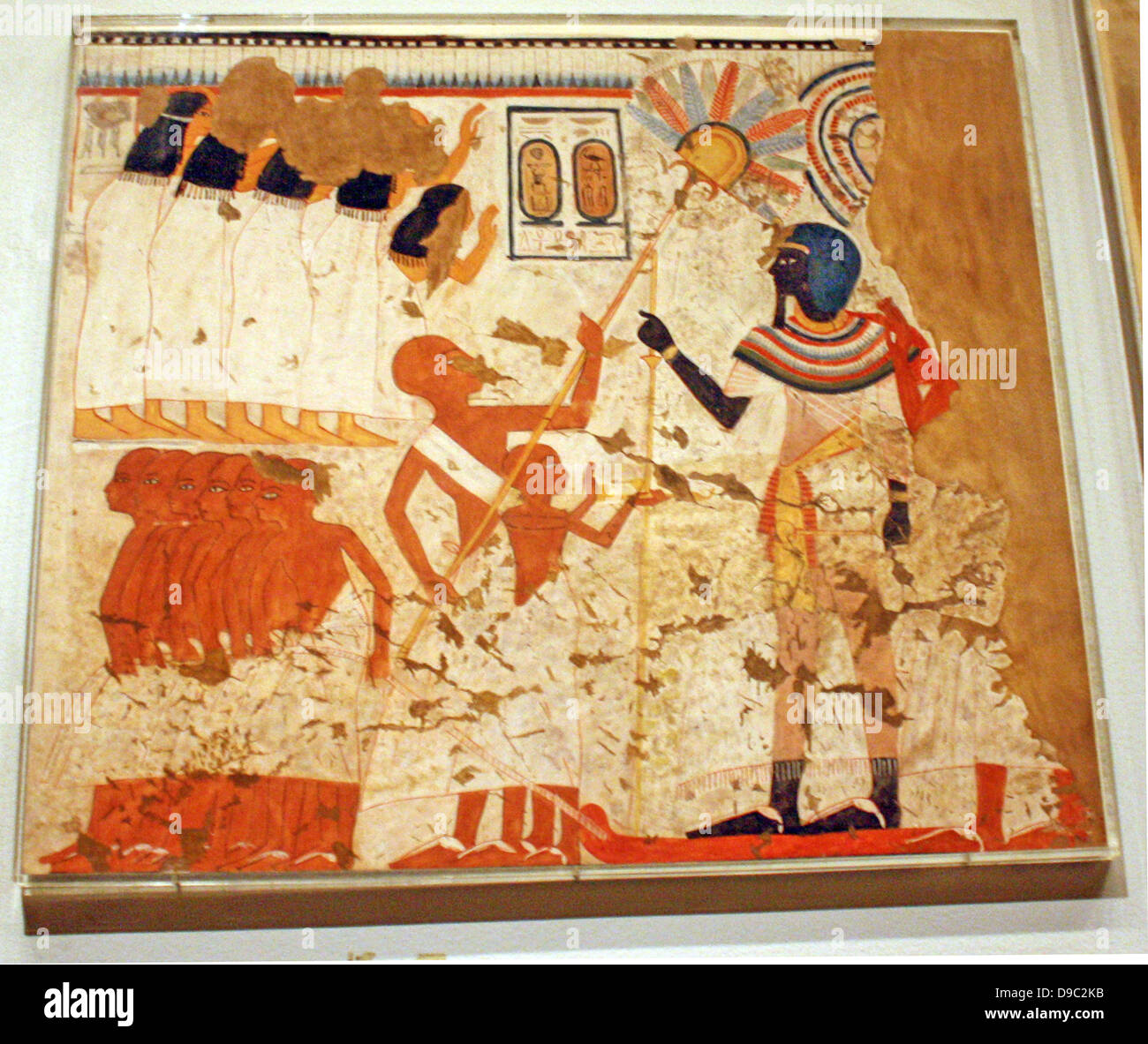 Egyptian Wall Paintings From The New Kingdom Facsimies Of