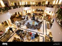 Lobby Of Adlon Hotel Berlin Germany Stock Royalty