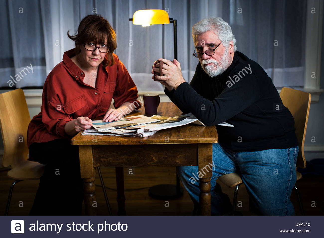 Husband Chair Woman Tied Chair Stock Photos And Woman Tied Chair Stock