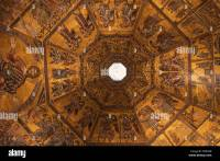 Baptistery Of San Giovanni Florence Stock Photos