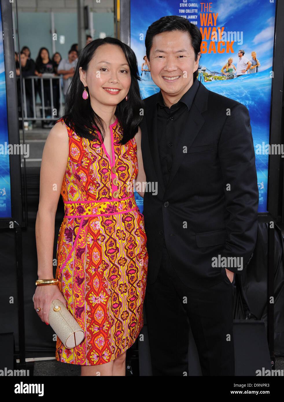 Ken Jeong And Wife Tran Stock Photos Amp Ken Jeong And Wife