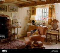 Traditional Cottage Furniture Armchair Stock Photos ...
