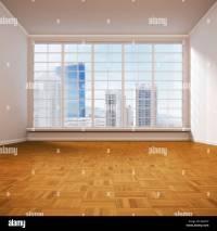 Empty living room, 3D illustration Stock Photo, Royalty ...