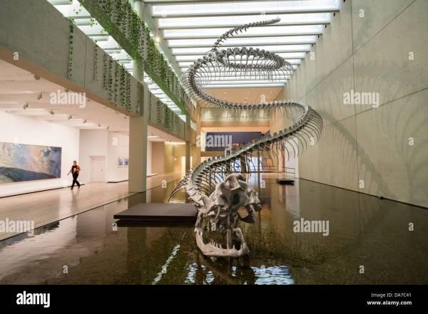 Dinosaur Sculpture Stock & - Alamy
