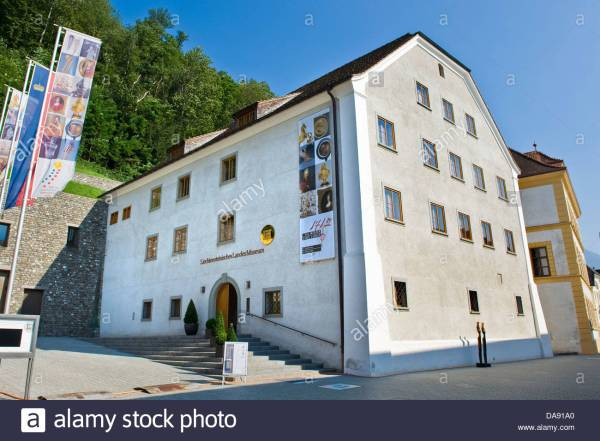 Vaduz Museum Stock & - Alamy