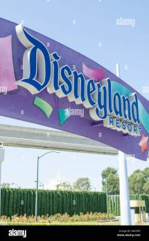 Disneyland Anaheim California Theme Park