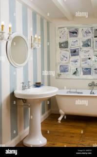 Interiors Traditional Bathrooms Wallpaper Stock Photos ...